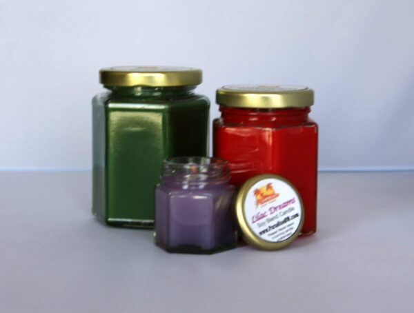 Hex Candle 6 oz