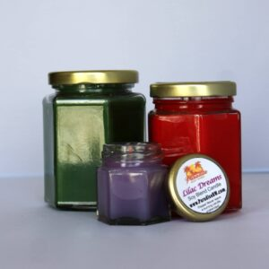 Hex Candle Small