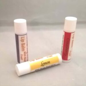 fruit butter lip balm